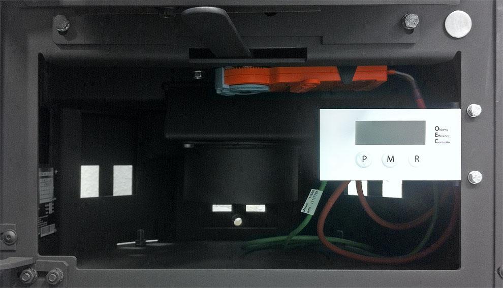 Zuverlässige elektrische Ofenregelung OEC von Olsberg